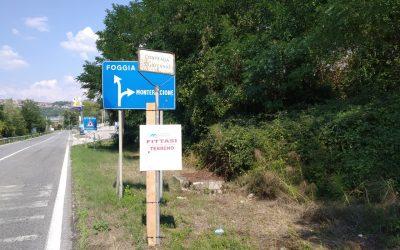 Affitto terreno commerciale Montemiletto